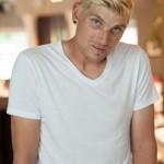 Man Blonde Short Style